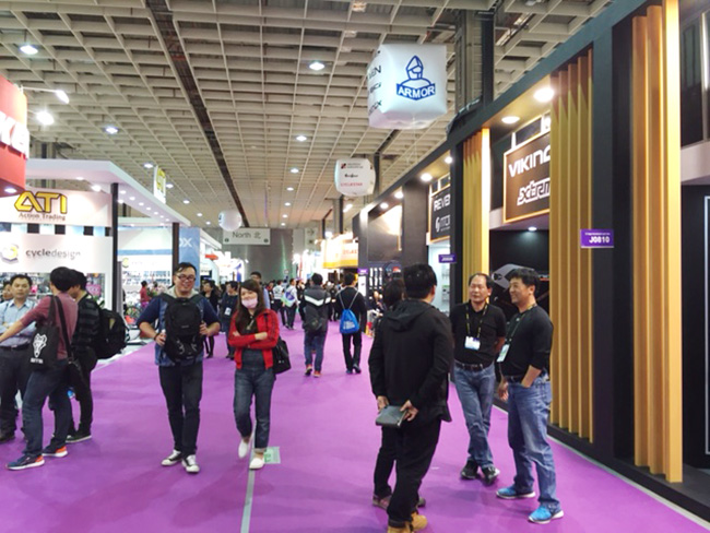Taipei International Cycle Show会場3