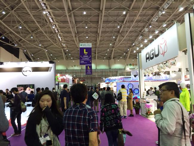 Taipei International Cycle Show会場2