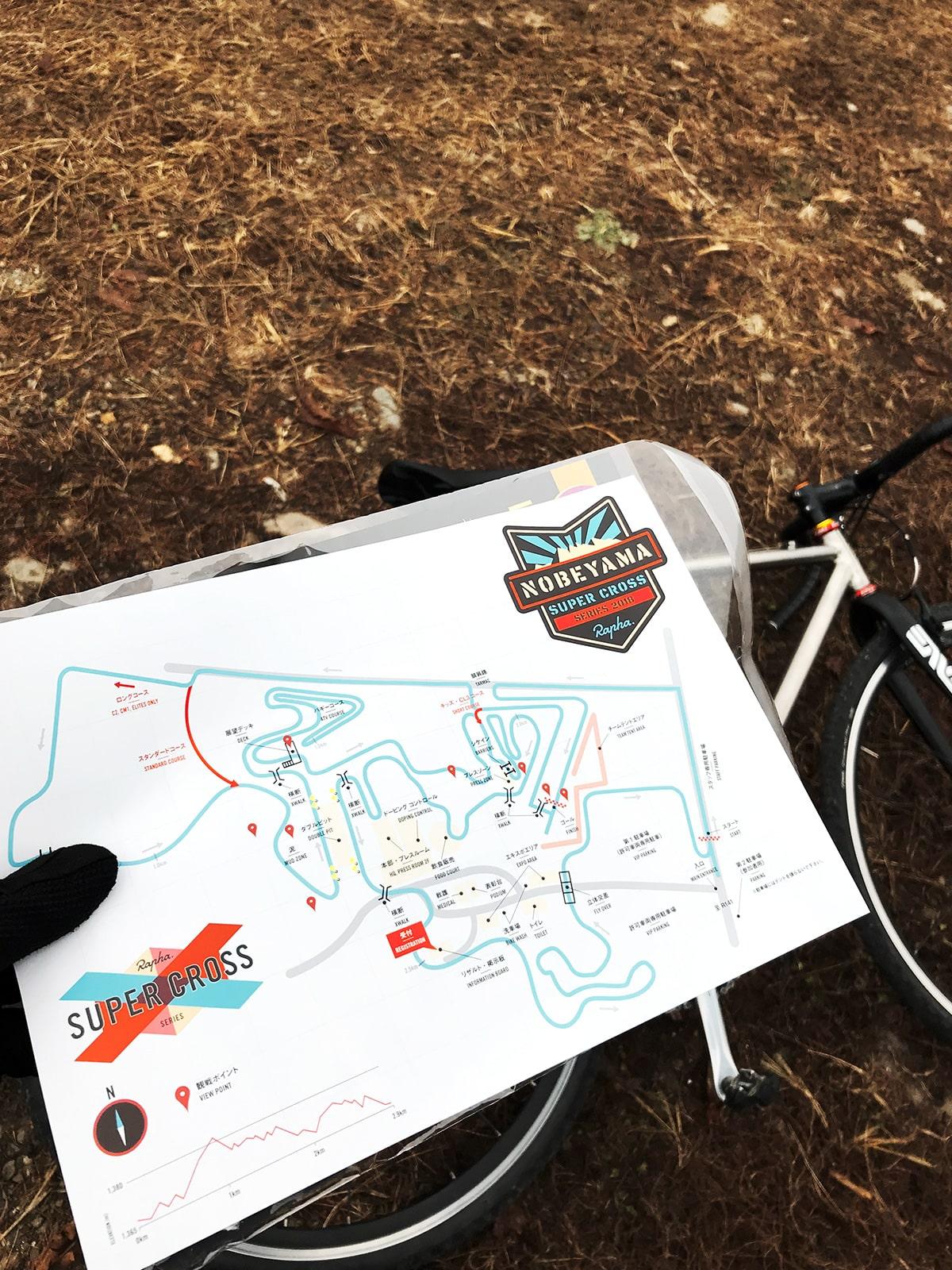 野辺山‐コースマップ
